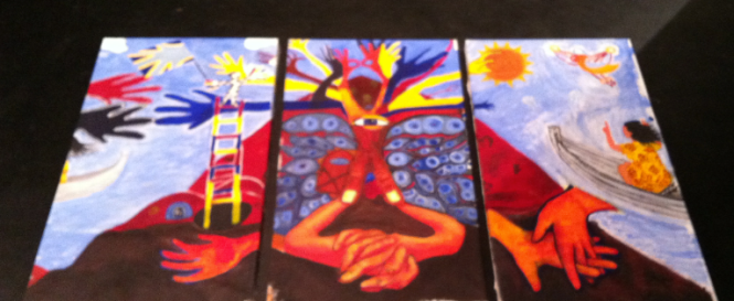 ntid mural 2014 theatre floor