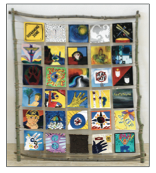 DVAR (Deaf View Art Retreat) Mural (2014)