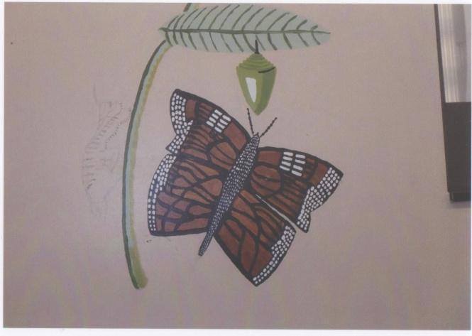 W butterfly